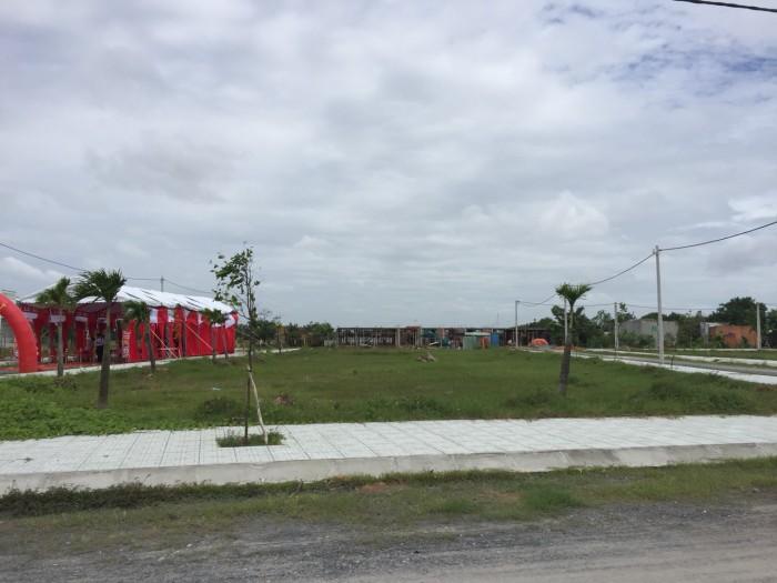 Sở hữu ngay lô đất mặt tiền đường gần chợ, gần KCN và TT hành chính