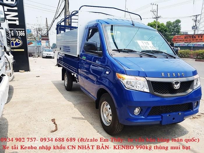 xe tải kenbo 990kg thùng mui bạt - nhập khẩu Nhật Bản- giá chỉ 160 triệu 1