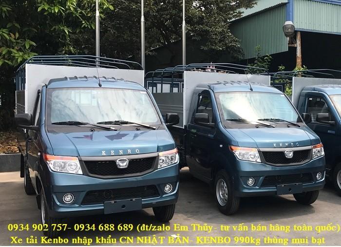 xe tải kenbo 990kg thùng mui bạt - nhập khẩu Nhật Bản- giá chỉ 160 triệu 4