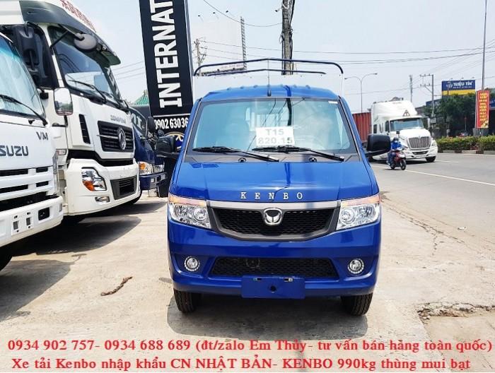xe tải kenbo 990kg thùng mui bạt - nhập khẩu Nhật Bản- giá chỉ 160 triệu 2