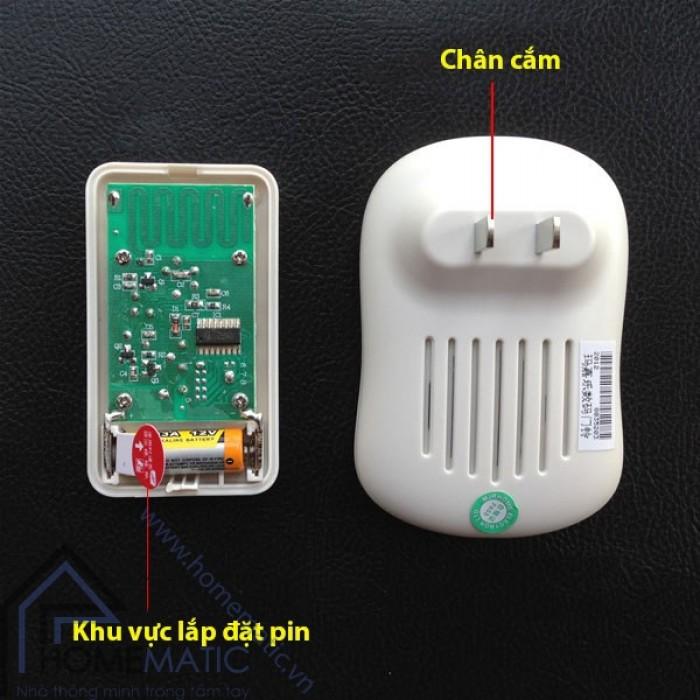Chuông cửa không dây MJRHOME M-A16 trang bị nút nhấn chống thấm nước1
