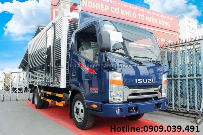 Xe tải Jac 2t4 động cơ isuzu thùng dài 4m3 giá 395 triệu