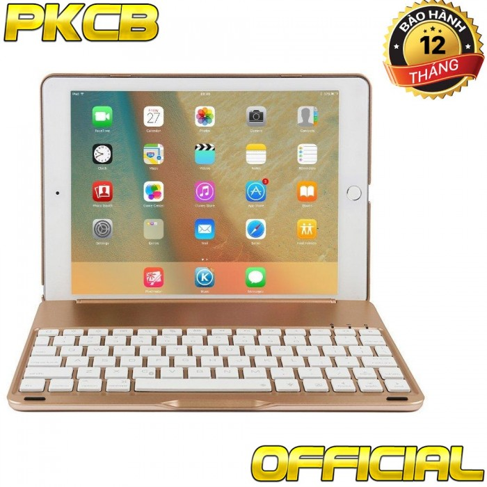 Bàn Phím Bluetooth Keyboard ốp lưng iPad mini 4 PKCB7