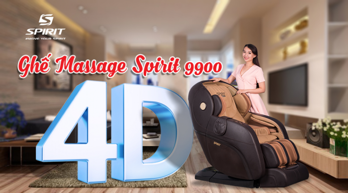 Ghế massage Buheung Spirit 9900