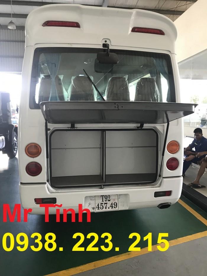 Bán xe 29 chỗ Rosa Fuso Thaco mới nhất 2018 giá rẻ-giao nhanh-trả góp qua ngân hàng