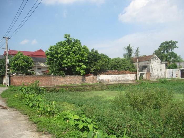 Bán đất xã Hiền Ninh Sóc Sơn Hà Nội 2700m ôtô đỗ cửa làm trang trại, nhà vườn sinh thái, xưởng sx