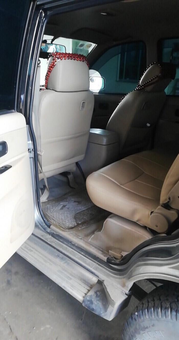 Mình bán Isuzu Hilander số sàn 2008 máy dâu turbo xám xe zin đẹp