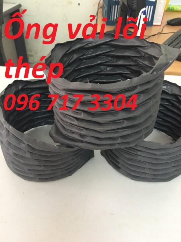 Ống gió mềm vải Hàn Quốc  D100, D125 , D150, D175, D200,... giá rẻ2