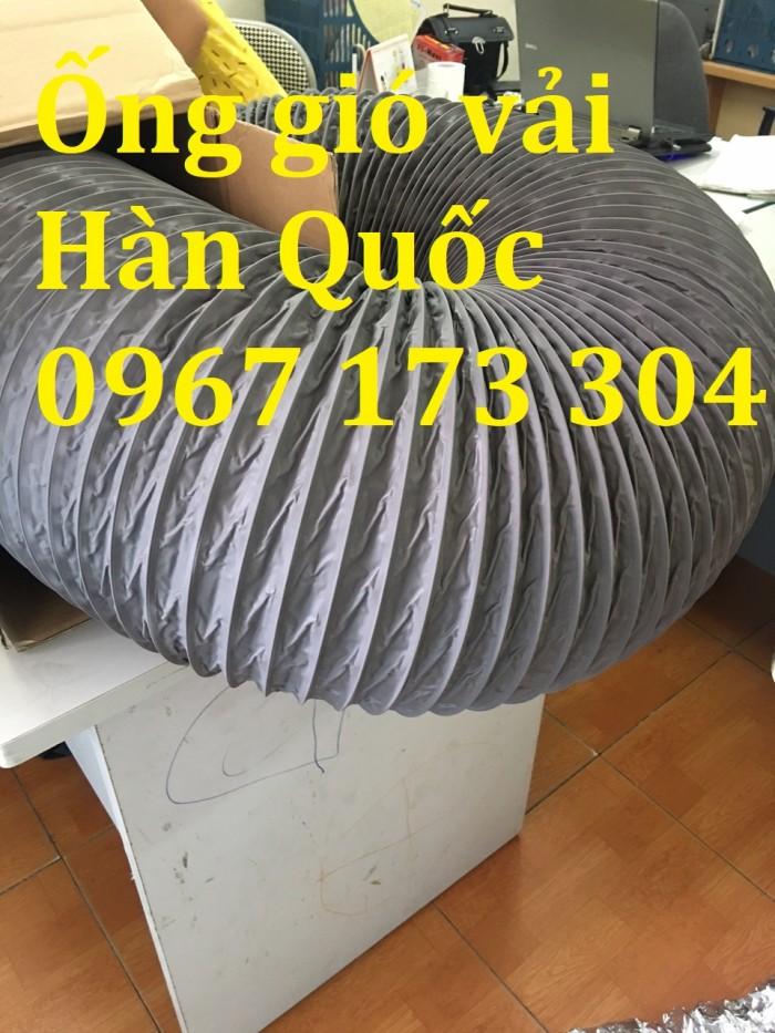Ống gió mềm vải Hàn Quốc  D100, D125 , D150, D175, D200,... giá rẻ1
