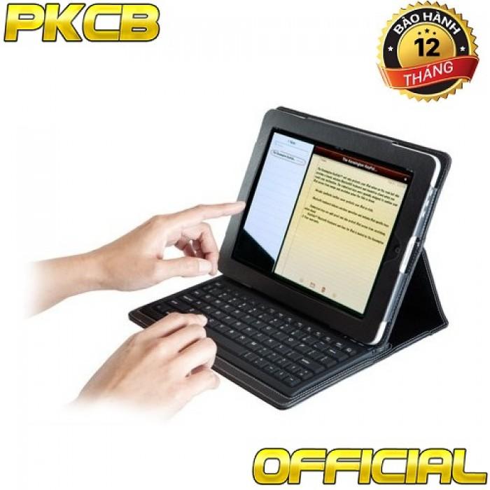 Bàn phím Bluetootoh Kiêm ốp lưng giá Đỡ Case Keyboard iPad 2 3 410