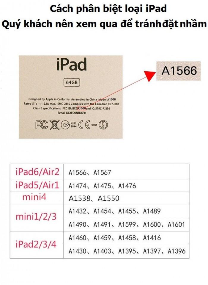 Bàn phím ốp lưng Bluetooth iPad Air iPad 5 tích hợp đèn LED0