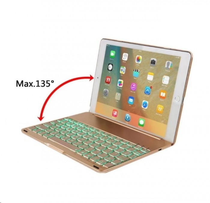 Bàn phím ốp lưng Bluetooth iPad Air iPad 5 tích hợp đèn LED8