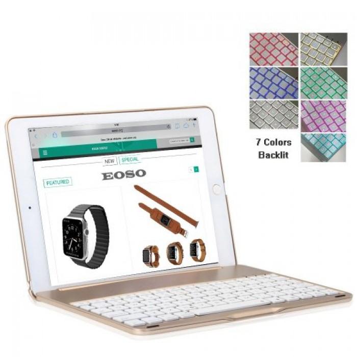 Bàn phím ốp lưng Bluetooth iPad Air iPad 5 tích hợp đèn LED7