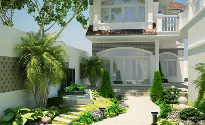 Chính chủ bán biệt thự  kiểu nhật, có sân vườn rộng, đường trước nhà 10m