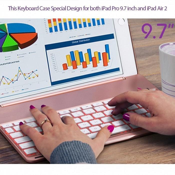 Bộ bàn phím ốp lưng iPad Air 2 iPad 6 + Skin bàn phím4