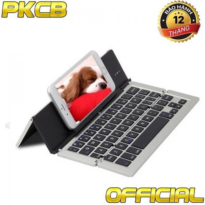Bàn phím Bluetooth kiêm giá đỡ cho iPad, máy tính bảng8