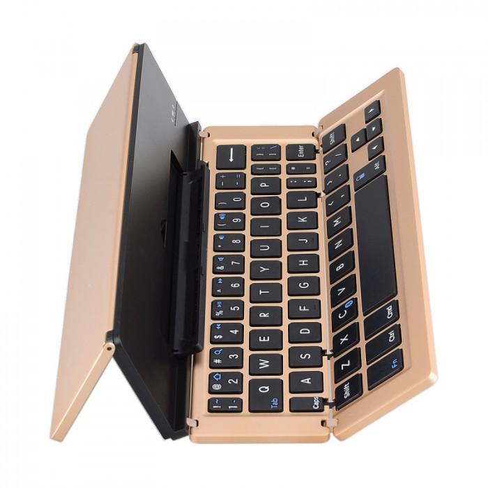 Bàn phím Bluetooth kiêm giá đỡ cho iPad, máy tính bảng1