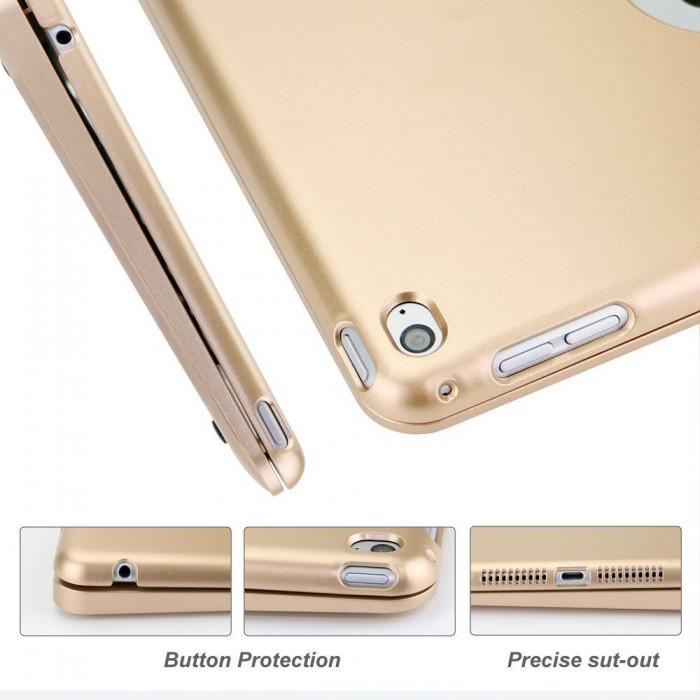 Bàn phím Bluetooth Ốp lưng iPad mini 123 (Đồng)2