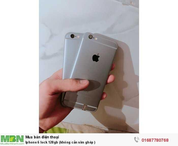 Iphone 6 lock 128gb (không cần sim ghép )2
