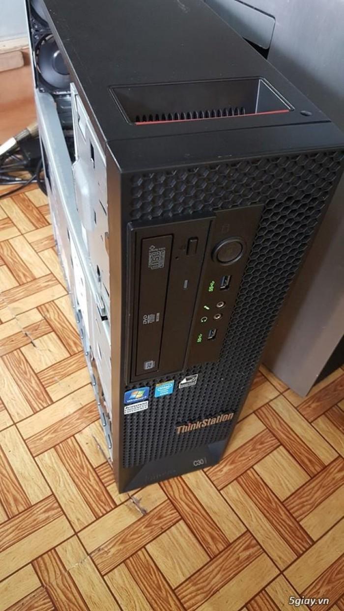 Workstation Lenovo C30: Dual E5-2670; 32GB, SSD 120, HDD 2TB, GTX7500