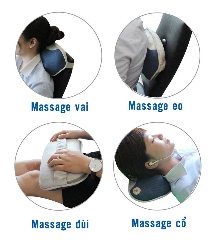 Gối Massage Buheung MK-316 New - Gymaster1