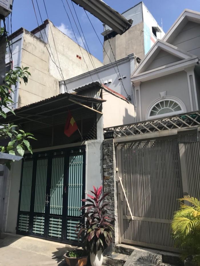 Bán nhà hẻm đường Thạch Lam P.Phú Thạnh ,Q.Tân Phú