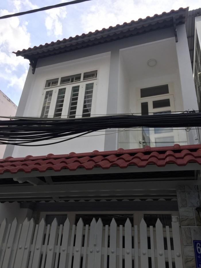 Bán nhà 1 lầu hẻm 62 Lâm Văn Bền phường Tân Kiểng quận 7, DT 80m