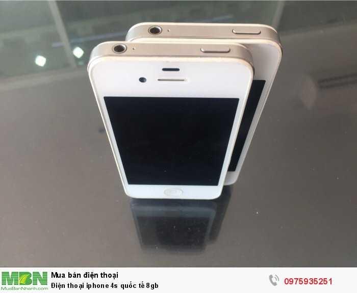 Điện thoại iphone 4s quốc tế 8gb0