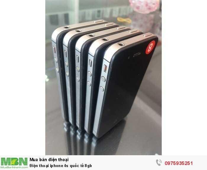 Điện thoại iphone 4s quốc tế 8gb2