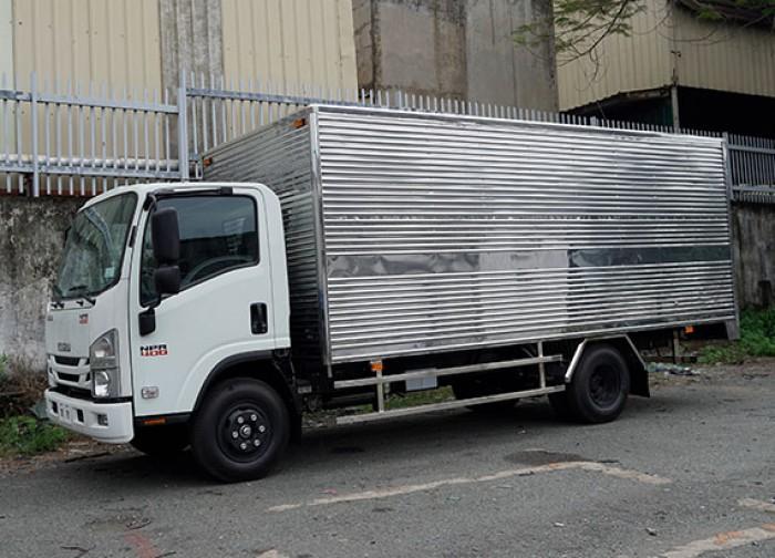 Xe tải Isuzu 3.5 tấn, thùng kín inox, trả trước 50 triệu, giao xe ngay - GỌI 0978015468 (Mr Giang 24/24)
