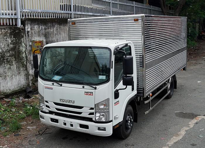 Khuyến mãi mua xe tải Isuzu 3.5 tấn, thùng kín inox, trả trước 50 triệu, giao xe ngay - GỌI 0978015468 (Mr Giang 24/24)