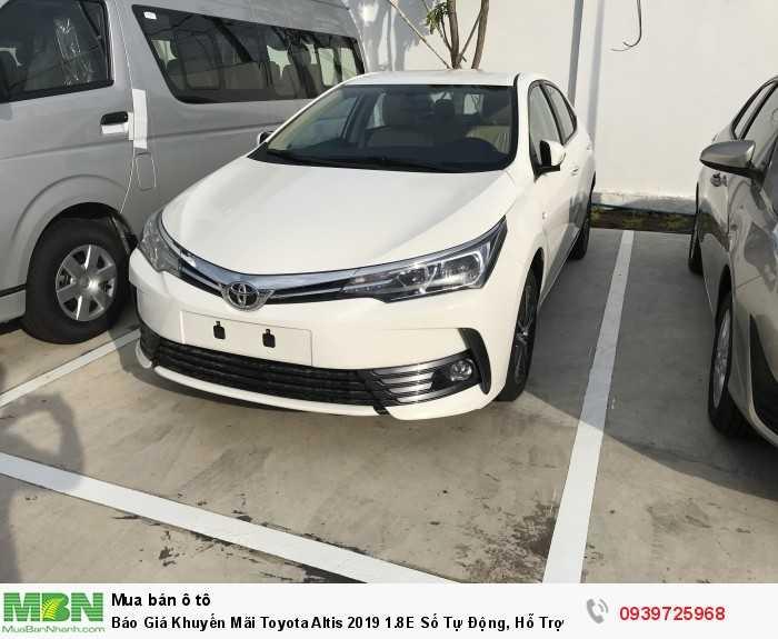 Khuyến Mãi Toyota Altis 2018 1.8 Cho Quý Khách Hàng.
