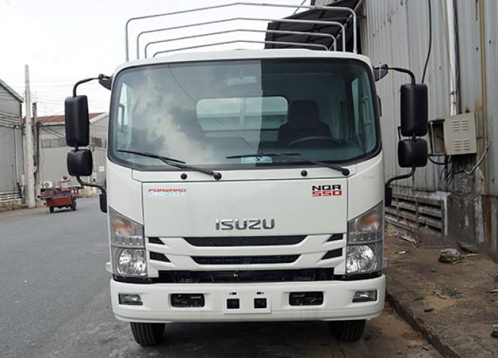 Xe tải Isuzu 5.5 tấn, thùng mui bạt, trả trước 50 triệu, giao xe ngay - GỌI 0978015468 (Mr Giang 24/24)