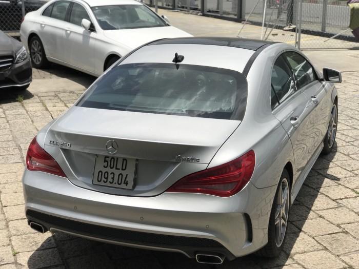 Bán xe Mercedes CLA250 Bạc 2017 chính hãng như mới  Mercedes-Benz Đã Qua Sử Dụng 4