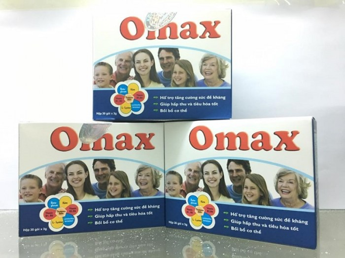 Men tiêu hóa OMAX giúp trẻ giảm tình trạng biếng ăn, hấp thu kém. Sử dụng OMax từ 2 -4 tháng trẻ khỏe mạnh, tăng cân, hồng hào. Liên hệ 0932 292 136 để được tư vấn và giao hàng toàn quốc