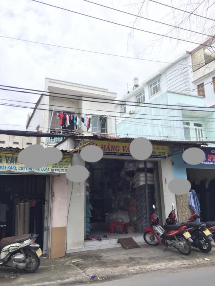 Bán MTKD Vải  Phú Thọ Hòa,Tân Phú Dt 4,1x18,6m NH 1 lầu