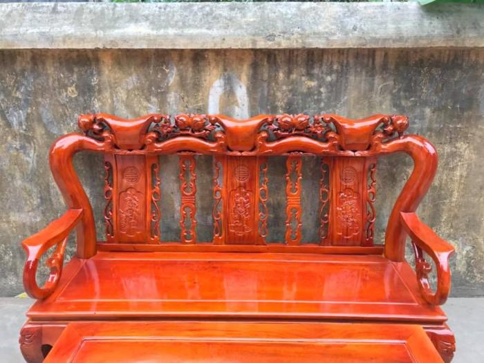 Bàn Ghế Phòng Khách Minh Quốc Đào Gỗ Xà Cừ dogomanhmoc.com2