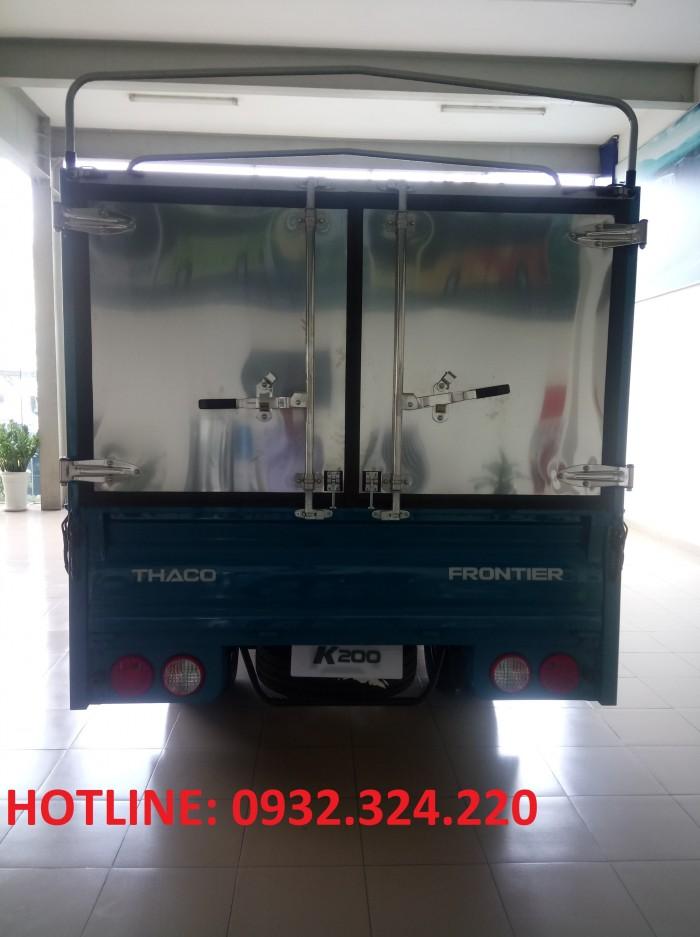 Xe tải 1,9 tấn KIA K200 của Trường Hải, động cơ HYUNDAI, giá tốt