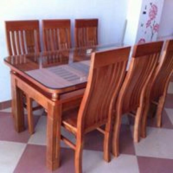 Bàn ghế ăn 2 tầng gỗ trẹo dogomanhmoc.com0