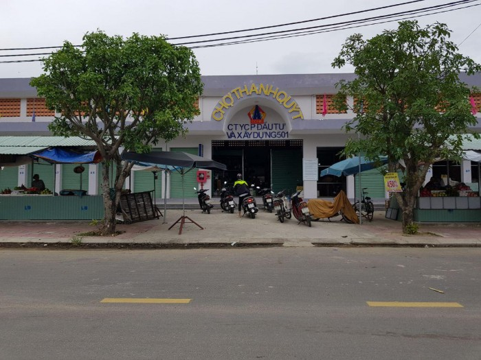 Bán 5 lô liền kề đất khu phố chợ Thanh Quýt để buôn bán kinh doanh