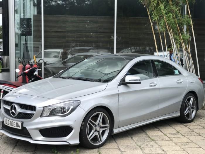 Bán xe Mercedes CLA250 Bạc 2017 chính hãng như mới 5