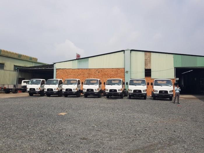 Xe tải Hyundai Mighty 75S và 110S giá cạnh tranh, ít tiêu hao nhiên liệu, hiệu quả kinh doanh cao.