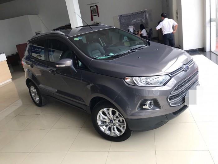 Bán Ford Ecosport sx 2015 titanium ghi xám 8