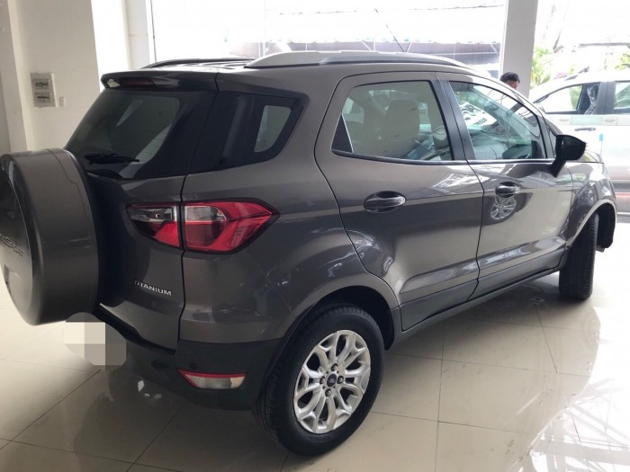 Bán Ford Ecosport sx 2015 titanium ghi xám 5