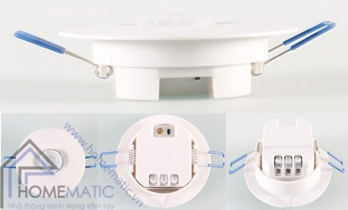 Công tắc cảm biến chuyển động hồng ngoại thân nhiệt âm trần TDL-9959J2