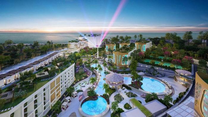 Đầu tư căn hộ nghỉ dưỡng Aloha Beach Village,cam kết LN 37%,cam kết mua lại