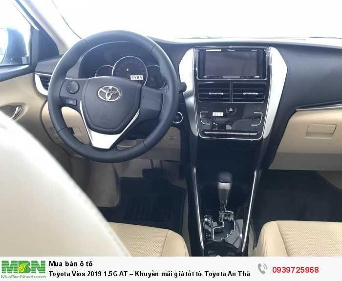 Toyota Vios 2019 1.5G AT – Khuyến mãi giá tốt từ Toyota An Thành - Hỗ trợ trả góp lãi suất thấp