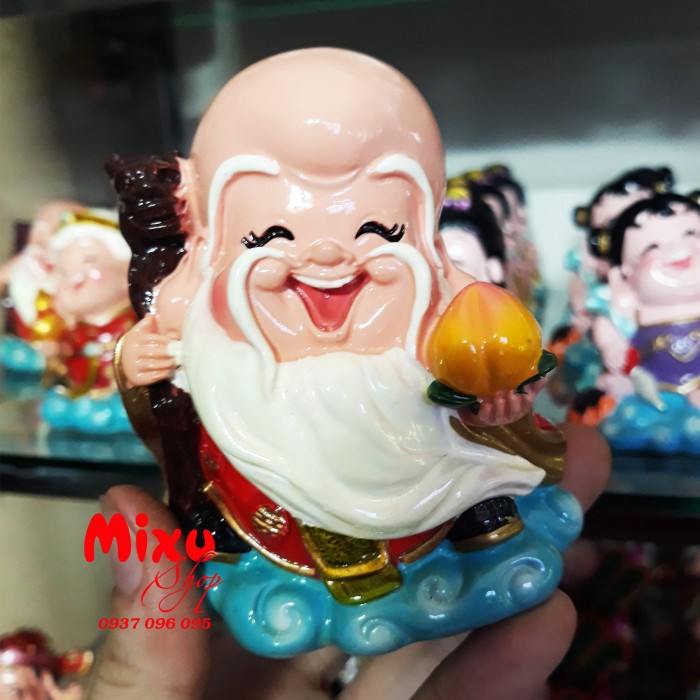 Tượng Phật Chibi 9cm Bằng Sứ22
