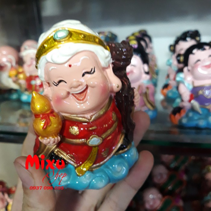 Tượng Phật Chibi 9cm Bằng Sứ21