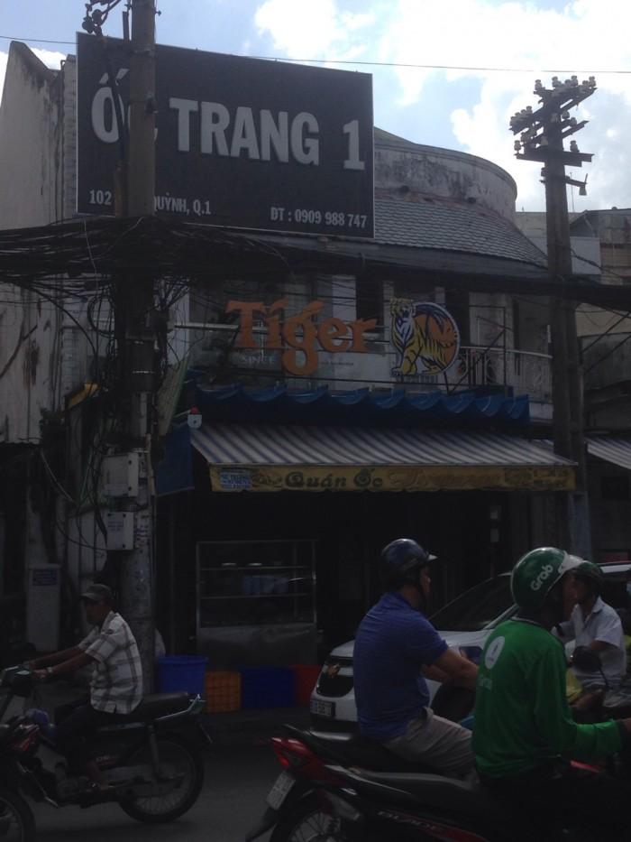 Cho thuê nhà 102 Cống Quỳnh, P.Phạm Ngũ Lão, Quận 1. DTSD 183m2